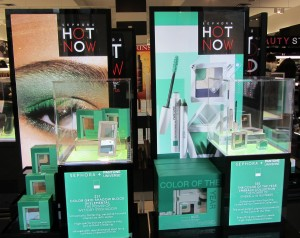Sephora Partners with Pantone - Emerald Green